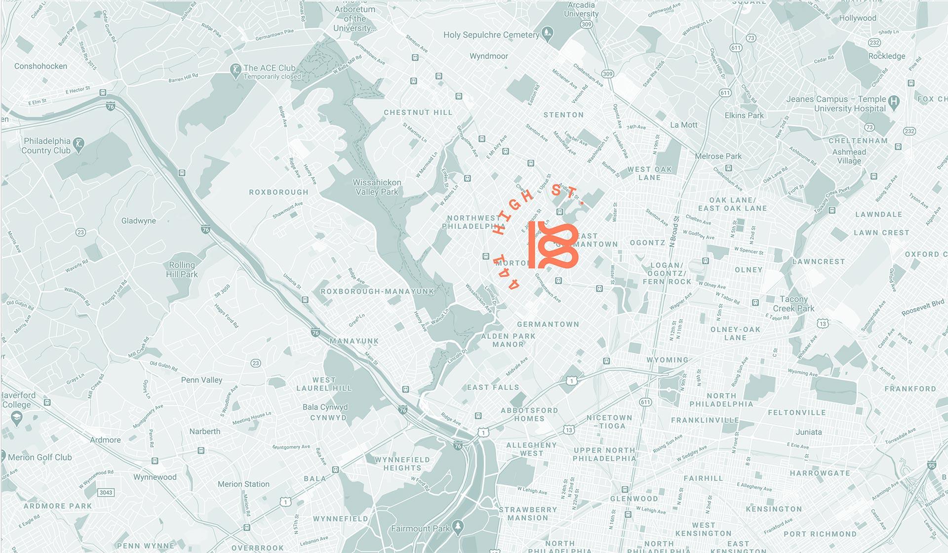 Braid Mill - Map Location